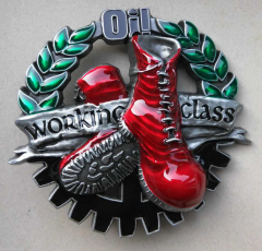 Oi! Boots n Working Class (Buckle) Gürtelschliesse
