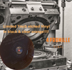 4 Promille - Vinyl (EP) 7inch etched Single  limited black Vinyl