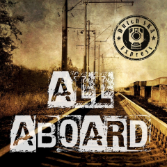 Dutch Ska Express - All Aboard (LP) limited 250 gold Vinyl