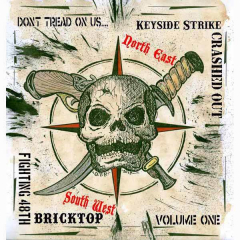 Don´t tread on us - Vol.1 - Bricktop / Crashed Out / Keyside Strike (EP) 7inch