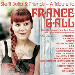 Steffi Bella & friends - a Tribute to France Gall (Do-LP) magenta Vinyl