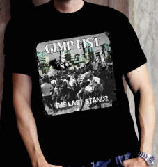 Gimp Fist - the last Stand Cover - T-shirt (Black) limited 25 copies
