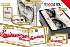Volxsturm - Massenuntauglich (CD) Collectors Tin Box