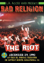 Bad Religion - the Riot! (DVD) Special Edition incl. the censored concert riots!
