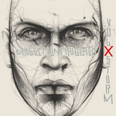 Volxsturm - Massenuntauglich (CD) limited Hochkant-Digipac