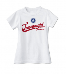 Volxsturm - Tresenmaid - Girlie Shirt #2 (white)