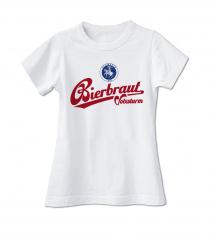 Volxsturm - Bierbraut - Girlie Shirt #4 (white) limited 25 Stück