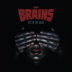 Brains, the - out in the dark (LP) red Vinyl limited 500