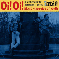 Skingraft - Oi! Oi! Music (7inch) red Vinyl, limited 200