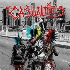 Casualties, the - Chaos Sound (LP) limited 500 black Vinyl