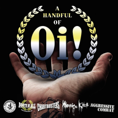 A handful of Oi! (CD) limited 1000 copies Aggressive / Warrior Kids ...