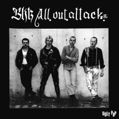 Blitz - All out attack (EP) 7inch limited 500 copies