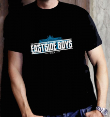 Eastside Boys - Berlin Band Logo - T-Shirt (black)