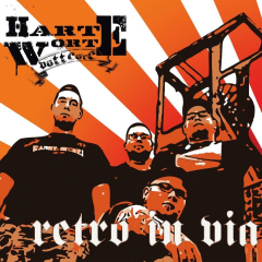 Harte Worte - Retro in Via (LP) limited orange Vinyl