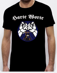 Harte Worte - Punkrock Allianz T-Shirt (black) blue Print!