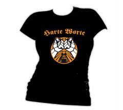 Harte Worte - Punkrock Allianz Girlie Shirt (black)