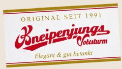 Volxsturm - Kneipenjungs Gäste-Handtuch/ Beer Towel
