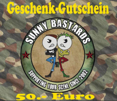 Sunny Bastards Shop-Gift Card for 50 Euro
