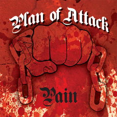 Plan of Attack - Pain (EP) 7inch lim bone Vinyl