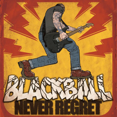 Black Ball - No regret (LP) lim 150 orange Vinyl