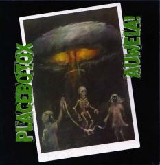 Placebotox / Auweia! - Split (EP) 7inch limited eggyellow Vinyl