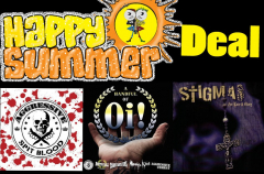 Summerdeal - Oi-Package CDs: Aggressive, Stigma, handful of Oi!