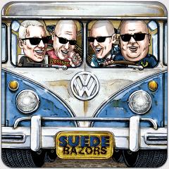 Suede Razors - Berlin or Bust (EP) 7inch red Vinyl