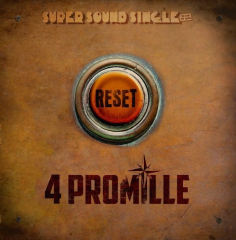 4 Promille - Reset (LP) black Vinyl Super Sound Single#8 - 12inch/45RPM