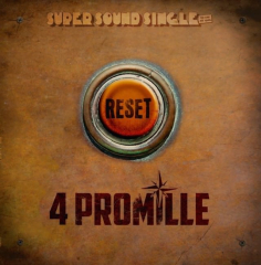4 Promille - Reset (LP) colored Vinyl Super Sound Single#8 - 12inch/45RPM