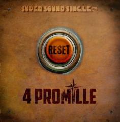 4 Promille - Reset (LP) colored Vinyl Super Sound Single#8 - 12inch/45RPM