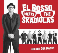El Bosso meets The Skadiolas - Helden der Nacht (LP) limited Colored Vinyl 500 copies
