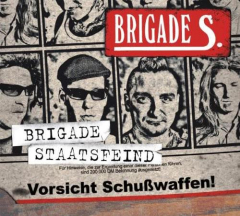Brigade S - Brigade Staatsfeind (CD) Digipak