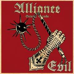 Alliance - Evil (LP) limit 100 clear Vinyl