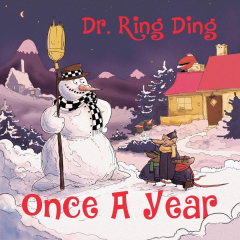 Dr. Ring Ding - Once a year (LP) +7inch + mp3 limit 120 copies