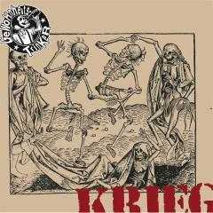 Gewohnheitstrinker - Krieg (LP) black Vinyl