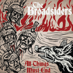 Broadsiders, the - All things must end (LP) limit 100 red/gold Vinyl