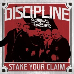 Discipline - Stake your claim (LP) limited red Vinyl