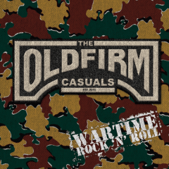 Old Firm Casuals - Wartime LP) etched Vinyl, limited black