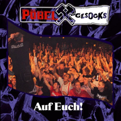 Pöbel & Gesocks - Auf Euch (LP) Super Sound Single#10, lmtd 250 blue Vinyl + DC