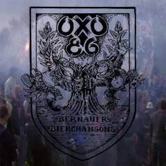 Oxo86 - Bernauer Bierchansons (LP) limited 500 green/black-marbled