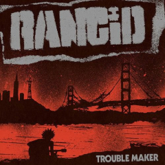 Rancid - Troublemaker - Deluxe Edition 7inch+LP limited babyblue Vinyl
