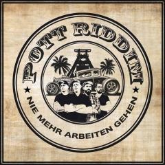 Pott Riddim - Nie mehr arbeiten gehen (LP) limited 500 green/yellow marbled Vinyl