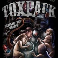 Toxpack -Bastarde von Morgen (LP) - clear Vinyl Erstpressung /  2.Wahl