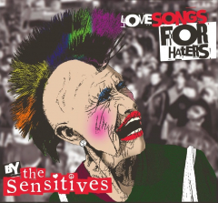 Sensitives, the - Love Songs for Haters (LP) + 2CD´s lim.320 yellow/black marbled Vinyl