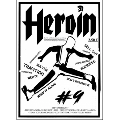 Heroin #9 (fanzine) german