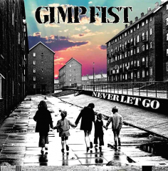 Gimp Fist - Never let go (EP) 7inch silver Vinyl limited 250 + MP3