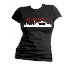 Berserker - Skyline Berlin - Girly Shirt (black)
