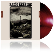Baboon Show, The - RADIO REBELDE  (LP) Dark Burgundy Vinyl + MP3