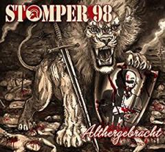 Stomper 98 - Althergebracht (LP) smoke white splatter Vinyl 500 copies Pirate Press Import
