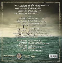 Die Geschichten von Volxsturm - Akkorde unserer Jugend (Do-LP) Trifolder 250 blue/yellow Vinyl